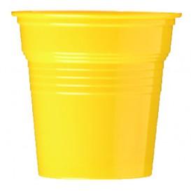 Copo de Plastico PS Amarelo 80 ml Ø5,7cm (50 Uds)