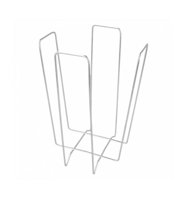 Porta-Guardanapos de Arame 22x22x18cm (1 Ud)