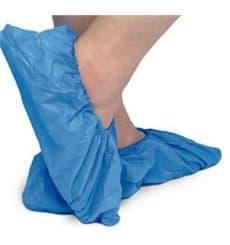 Cobre Sapatos TST de PP Azul com Sola Reforçada CPE Azul (500 Uds)