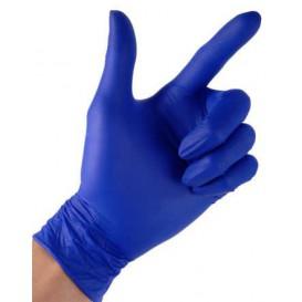 Luvas de Nitrilo sem Talco Azul Medida M 4,5G (100 Uds)