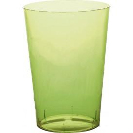 Copo Plastico Moon Cristal Verde Limão Transp. PS 350ml (20 Uds)