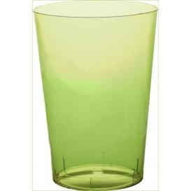 Copo Plastico Moon Cristal Verde Limão Transp. PS 350ml (400 Uds)