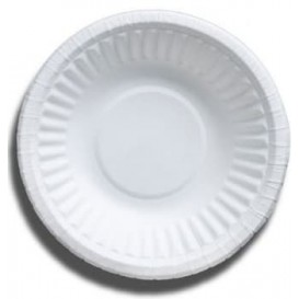 Tigela de Papel Branco Biodegradaveis 250ml (50 Uds)