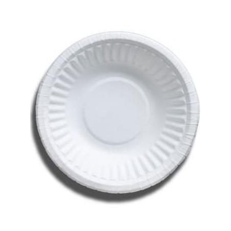 Tigela de Cartão Branco Biodegradaveis 250ml (50 Uds)