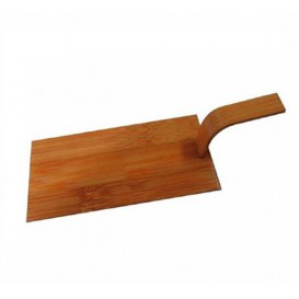 Mini Pá Bambu Natural Tapas 10x5 cm (400 Uds)
