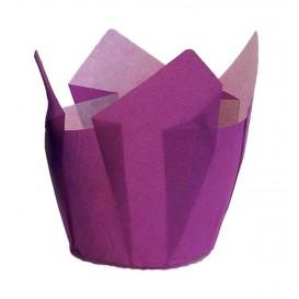 Cápsula Muffin Tulipa Ø50x50/80 mm Violeta (2000 Uds)