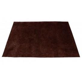 Toalhete Não Tecido Marrom 35x50cm 50g (500 Uds)