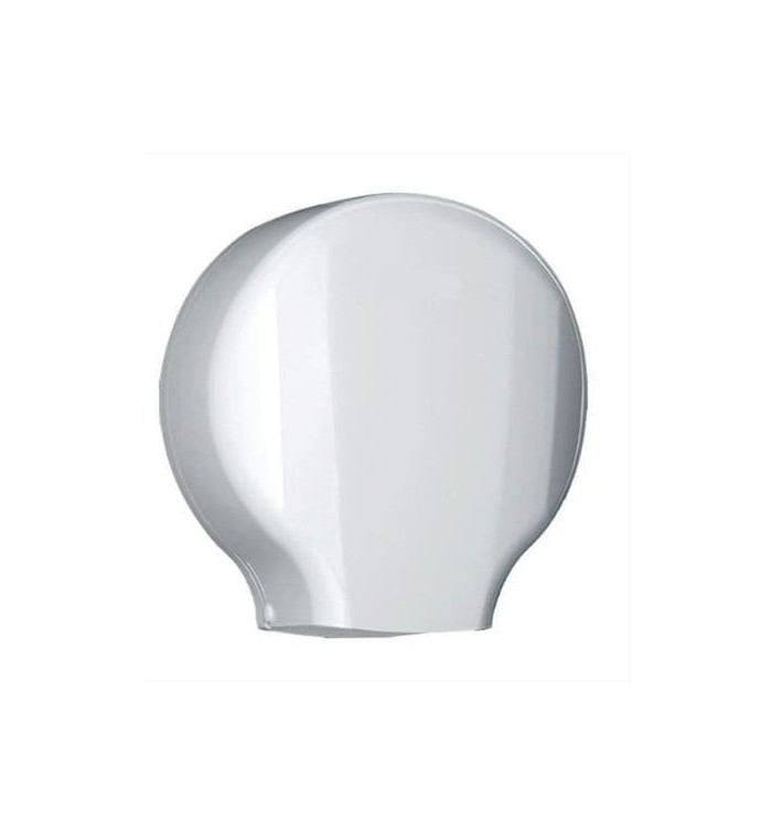 Dispensador Papel Higiênico Industrial 300m ABS Branco (1 Ud)