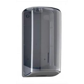 Dispensador Higiênico Folha Folha em Z ABS Fumé (1 Ud)