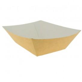 Barqueta Cartolina Kraft 12,2x8x5,5cm 525ml (25 Uds)