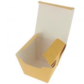 Embalagem Fechado TakeAway Wok Kraft 450ml (350 Uds)