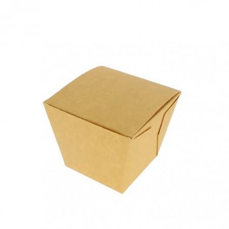 Embalagem Fechado TakeAway Wok Kraft 780ml (200 Uds)