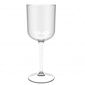 "Copo Flute Reutilizáveis Vinho ""Bio Based"" Tritan Transp. 420ml (1 Ud)"