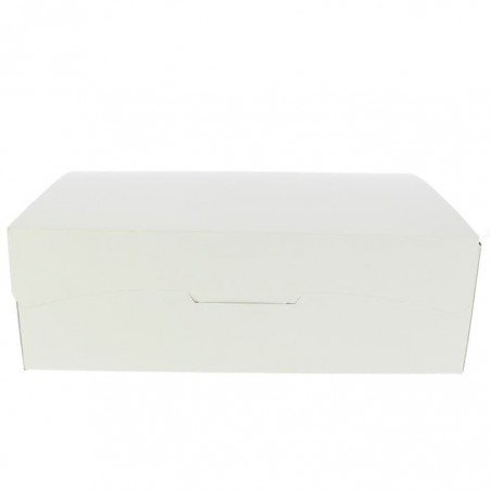 Caixa Pastelaria Branca 25,8x18,9x8cm 2kg (125 Uds)