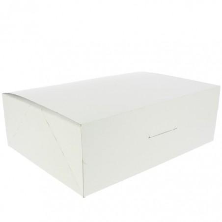 Caixa Pastelaria Branca 25,8x18,9x8cm 2kg (25 Uds)