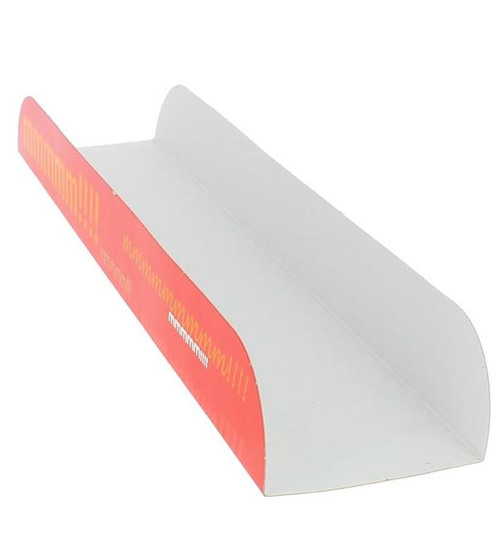 Bandeja para Sandes Vermelho 30x6,1x3,2cm (1000 Uds)