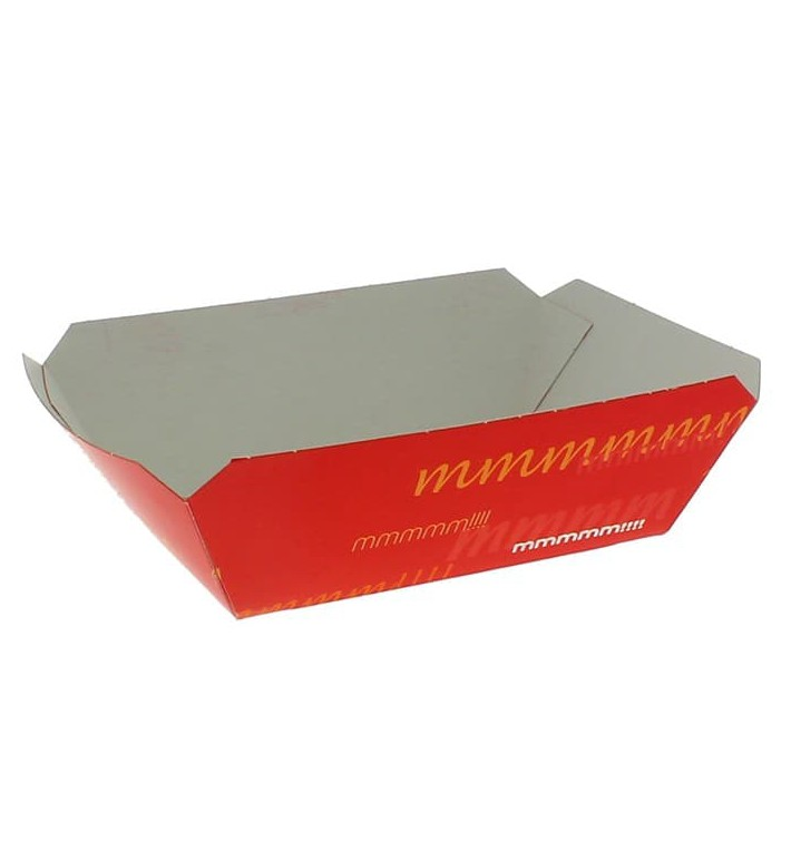 Barqueta Cartolina 9,6x6,5x4,2cm 250ml (25 Uds)