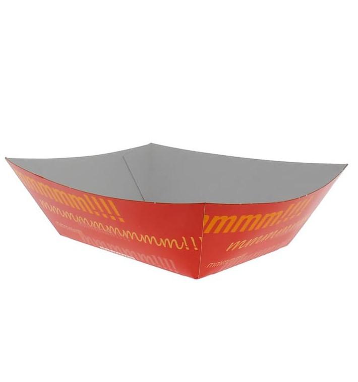 Barqueta Cartolina 12,1x8,1x5,5cm 525ml (600 Uds)