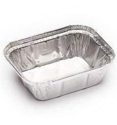 Embalagem de Aluminio 250ml 128x100x32mm (100 Uds)