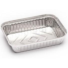 Embalagem de Aluminio 580ml 185x135x30mm (125 Uds)
