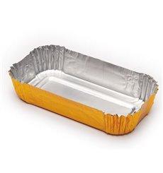 Cápsula Pastelaría Aluminio 100x55x20mm (100 Uds)