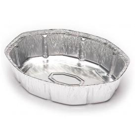 Embalagem Aluminio Oval Frango 1900ml (125 Uds)
