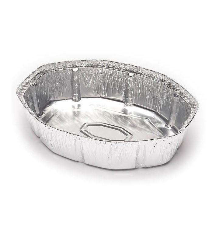 Embalagem Aluminio Oval Frango 1900ml (500 Uds)