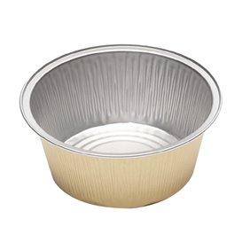 Embalagem Aluminio Pudim ou Flan 135ml (166 Uds)