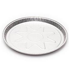Prato de Aluminio 250mm 790ml (150 Unidades)