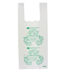 Saco Plastico Alça Biodegradável 100% 35x50cm (2000 Uds)