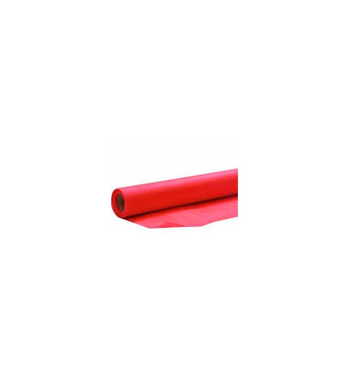 Toalha em Rolo Não Tecido Vermelho 1,2x50m 50g (6 Uds)