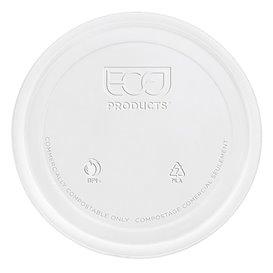 Tampa Embalagem Compostáveis PLA 235,355,470,940ml (50 Uds)