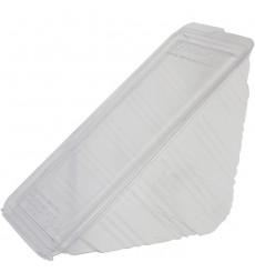 Embalagem Sanduíche PLA 16,5x11,0x7,5 cm (125 Uds)