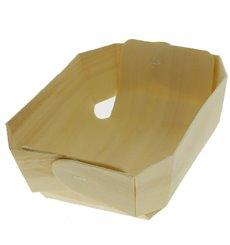 Molde de Madera para Forno 21,0x14,5x4,5cm  (50 Uds)