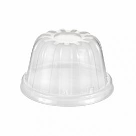 Tampa Alta Plastico PS Transparente Ø8,9cm (1000 uds)
