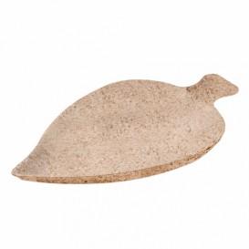 Prato Cana-de-açúcar Degustação Folha 8x5,5cm (50 Uds)