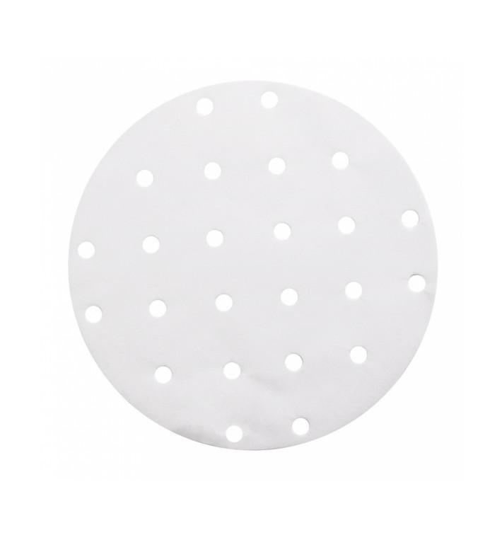 Papel Antigordura Branco para Panela Cozimiento Ø20 cm (2000 Uds)