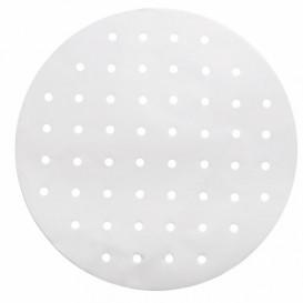 Papel Antigordura Branco para Panela Cozimiento Ø30 cm (2000 Uds)