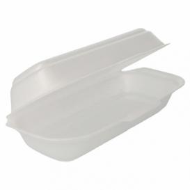 Embalagem Foam HotDog Branco (125 Uds)