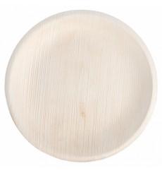 Prato de folha de palmeira 18,0 cm (200 Unidades)