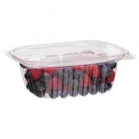 Embalagem Compostáveis PLA com Tampa 355ml (100 Uds)
