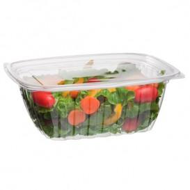 Embalagem Compostáveis PLA com Tampa 940ml (50 Uds)