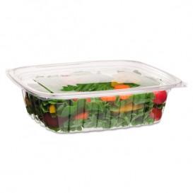 Embalagem Compostáveis PLA com Tampa 1420ml (50 Uds)