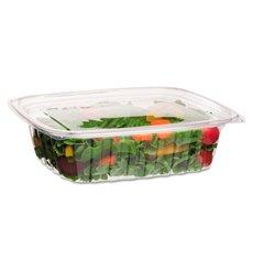 Embalagem Compostáveis PLA com Tampa 1420ml (200 Uds)