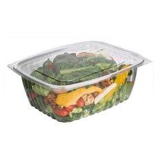 Embalagem Compostáveis PLA com Tampa 1890ml (200 Uds)