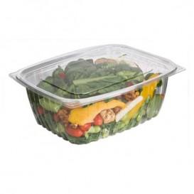 Embalagem Compostáveis PLA com Tampa 1890ml (50 Uds)