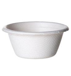 Copo Cana-de-açúcar Bagaço Branco 60ml (2500 Uds)