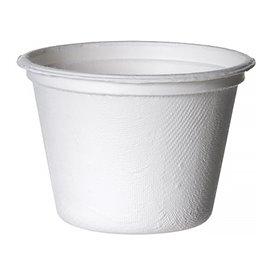 Copo Cana-de-açúcar Bagaço Branco 120ml (1800 Uds)
