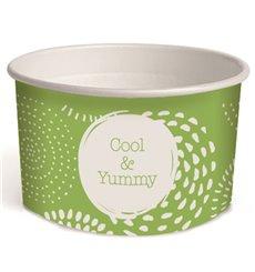 Taça de Cartão para Gelados 3oz/100ml Cool&Yummy (65 Uds)