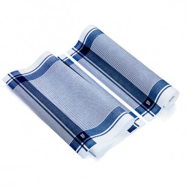 """Rolo Pano """"Roll Drap"""" Vintage Azul 40x64cm P40cm (10 Uds)"""